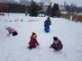 Hry na sněhu - Leden 2018